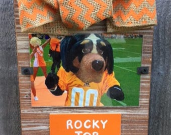 Tennessee Rocky Top Whitewashed Rustic Frame