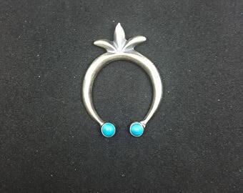 Naja Pendant ~ Sleeping Beauty Turquoise