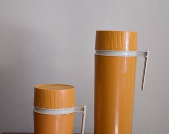 1970s Thermos Brand Thermos Set
