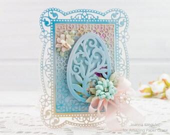 Easter Card, Easter, Easter Egg, Handmade Easter, Season Greetings, Handmade Card, Homemade Card, Cards