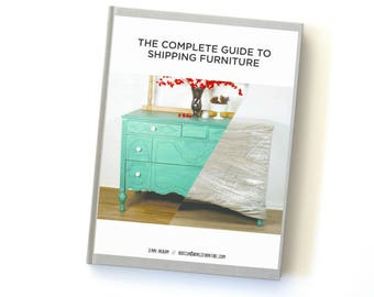 The Complete Guide to Shipping Furniture E-Book