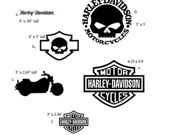 Motorcycle Decal Etsy - Vinyl for motorcycle decals
