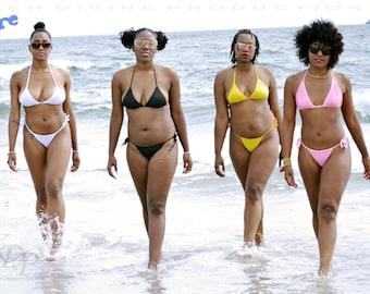 KDP -Womens Micro Thong G-string Brazilian Bikini Swimsuit Swimwear + Photo Novel
