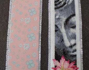 Buddha bookmark cross stitch