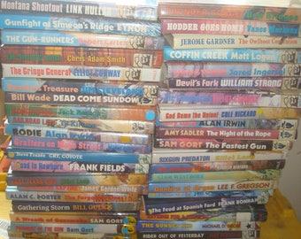 Set of 40 Black Horse Westerns, Hardback Books