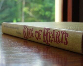 King of Hearts, Rare Hardcover, 1954, Kerr, Brooke, Cloris Leachman,Contemporary Plays,Theater,Drama,Script,Vintage Book,Humor,Ego,Absurdity
