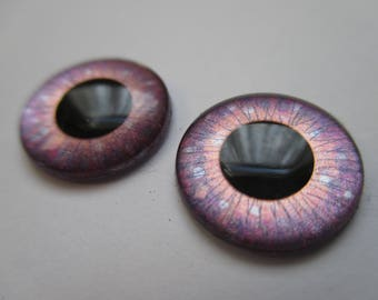 OOAK Blythe doll hand painted pair of eye chips (no.313)
