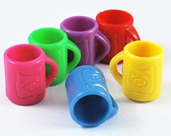 20mm X 1 Mug blue plastic