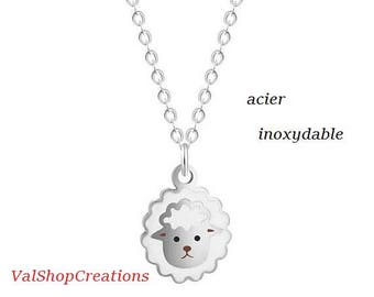 Necklace stainless steel head