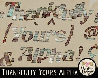 Grunge Alpha, Grunge Digital Scrapbook Alphabet Clip Art - Altered Art Grunge Digital Alpha - Digital Alphabet, Digital Letters,