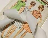 Soft White Velvet Ribbon ...