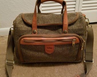 Great looking Vintage Hartmann Tweed Train case luggage