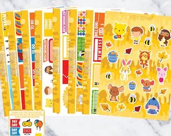 Winnie the Pooh Legendary Kit (8 sheets)