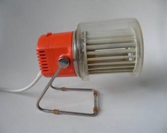 Kalorik,table van,space age table fan,desk ventilator,small 1970 desk fan