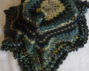 The Green Jewel Blankie/Throw.