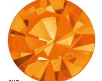 sun flatback crystals/rhinestones - one gross