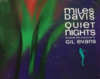 Miles Davis - Quiet Nights - vinyl record