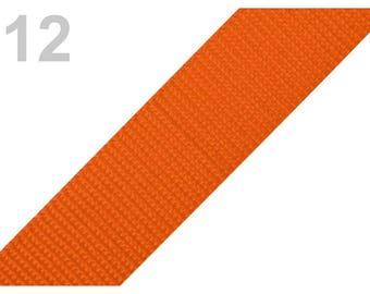 12 - Strap orange 30 mm polypropylene