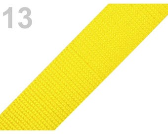 13 - Yellow strap 30 mm polypropylene
