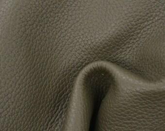 "Mountain Moss Leather New Zealand Deer Hide 8"" x 10"" Pre-Cut 3-4 ounces TA-56557 (Sec. 4,Shelf 4,A)"