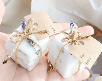 1 Set of 2 Small Soaps