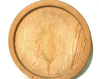 """Aarikka of Finland 11"""" Wood Plate"""