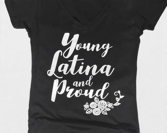 Young Latina and Proud
