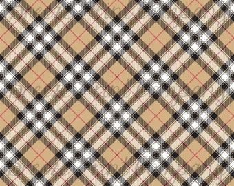 Pride of Scotland gold tartan plaid craft vinyl sheet - HTV or Adhesive Vinyl -  Christmas HTV1862