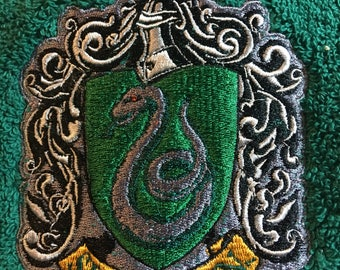 Embroidered Harry Potter Bath Towel