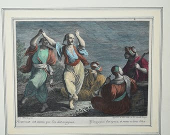 18th Century French Print