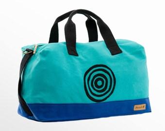 Weekender Bag, Canvas Weekender, Overnight Bag, Duffle Bag, Sports Bag, Gym Bag, Vegan Bag, Travel Bag, Luggage, Carry On Bag, Gift Her Him