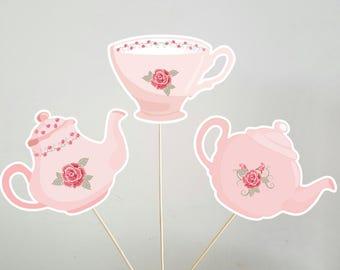 Tea Party Centerpieces, Tea Party Decorations