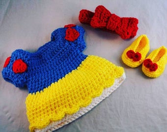 Baby Snow White Costume Photo Props