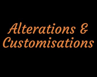 Alterations & Customisations