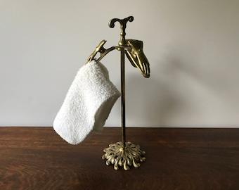 Bathroom Hand Towel Holder hand towel stand | etsy