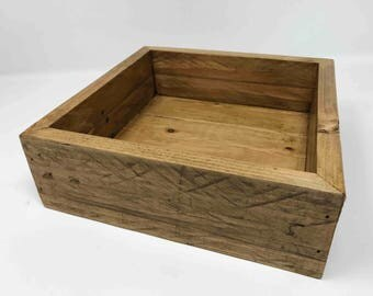 Valet Tray - Catchall - Dresser Caddy - Desk Caddy - Made from Reclaimed Wood