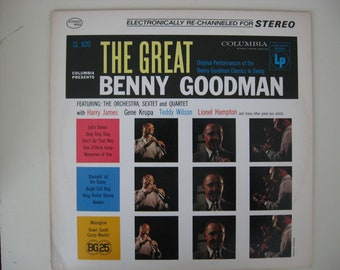 Benny Goodman, Gene Krupa  - The Great Benny Goodman - Circa 1956