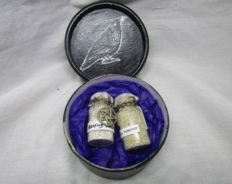 Black crow potion box