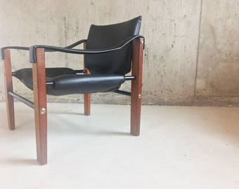 Mid Century Safari chair by Maurice Burke for Arkana