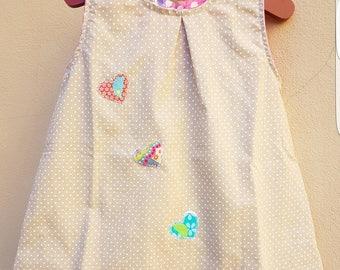 On SALE cross Dress little girl fantasy flowers