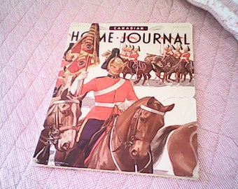 1939 CANADIAN HOME JOURNAL Toronto Ontario Rare