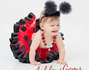 Ladybug Costume, Ladybug Tutu, Ladybug Birthday, Ladybug First Birthday Outfit, Lady Bug 1st Birthday Outfit, Lady Bug Costume, Lady Bug