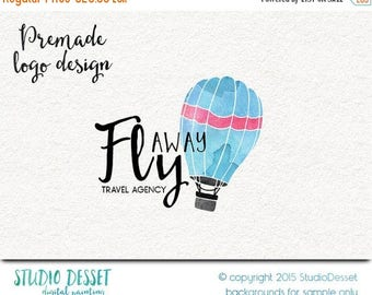 80% OFF - LIMITED TIME - Travel Logo Design, Party Logo Design, Balloon Logo Design, Boutique Logo Design, Logo Design Hot Air Balloon Logo