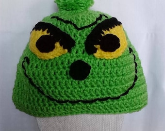 Clearance Grinch Hat for Teen/Small Adult