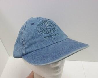 Waltons Mountain VA Denim hat cap jean
