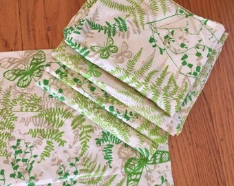 Classic Vera fern print pillowcases