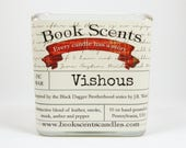 Vishous - Book Inspired Candle - Hand Poured, 10 oz coconut wax container candle