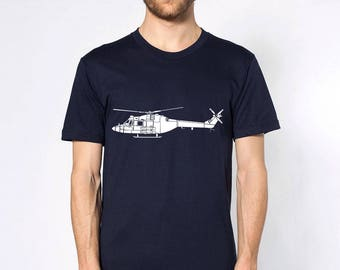 KillerBeeMoto: British Lynx AH.Mk1 Military Helicopter Short & Long Sleeve Shirt