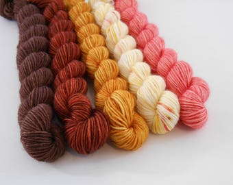 LOVE Sock, Mix 9, laine fingering  teinte main, 5 * 20  g