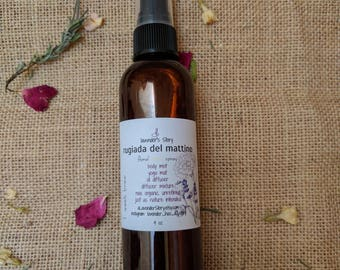Aromatherapy Floral Spray | Oil Diffuser Blend | Yoga Mat Spray | Linen Spray | Lavender Essential Oil | Therapeutic Essential Oil | Jasmine